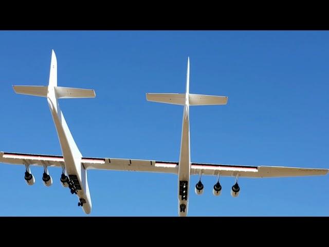 世界最大の!宇宙船の輸送機「ストラトローンチ」!!