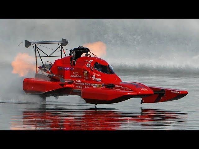 10000馬力!時速420kmくらい出るボートが凄い!!