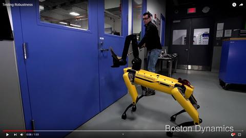 4本足のロボット02