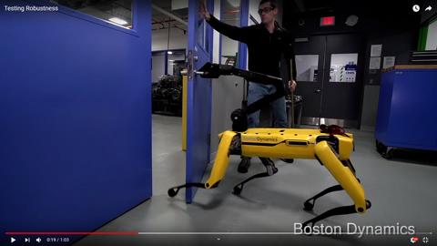 4本足のロボット03