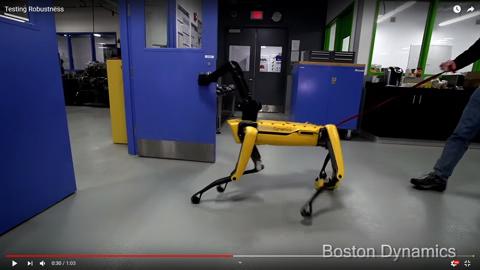4本足のロボット04