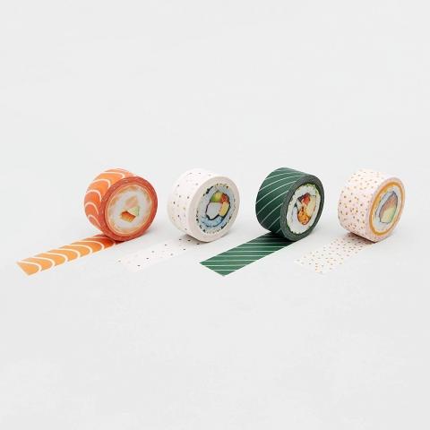 巻き寿司のようなテープ04