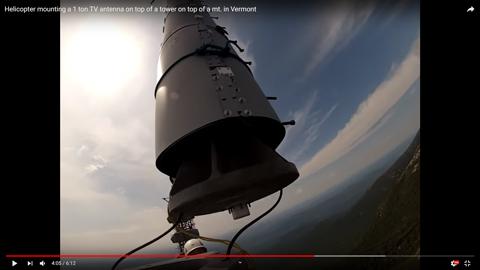鉄塔にアンテナを立てる05