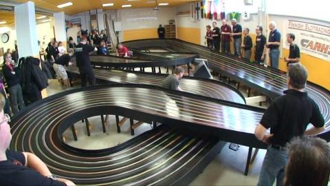 スロットカーのレース01