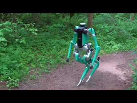二足歩行のロボット01