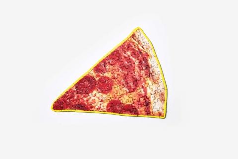 ピザやラーメンのジグソーパズル01