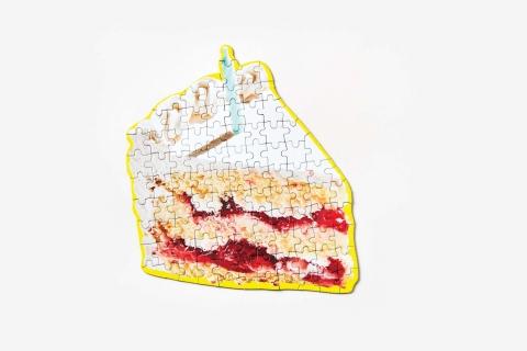 ピザやラーメンのジグソーパズル03