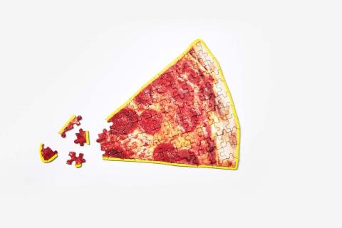 ピザやラーメンのジグソーパズル07