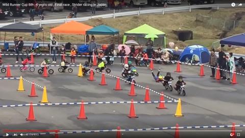 4歳の自転車レース02