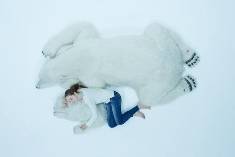 シロクマのソファー01