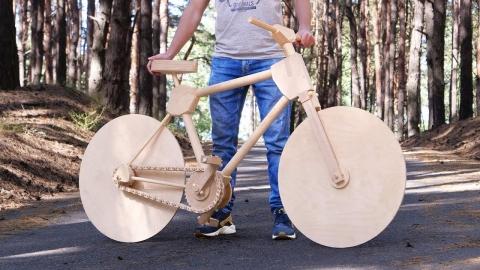 木の自転車01