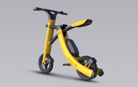 バナナのようなスクーター05