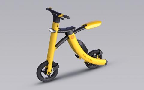 バナナのようなスクーター06