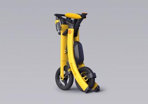 バナナのようなスクーター07
