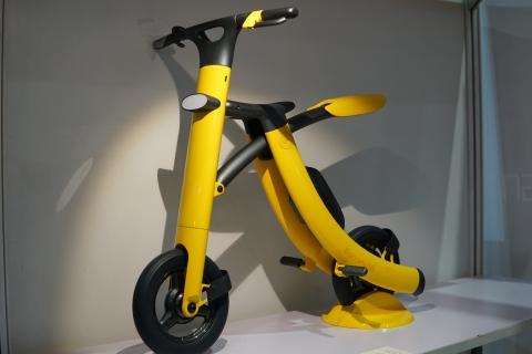 バナナのようなスクーター09