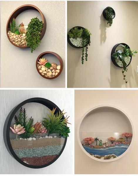 壁にかける花瓶06