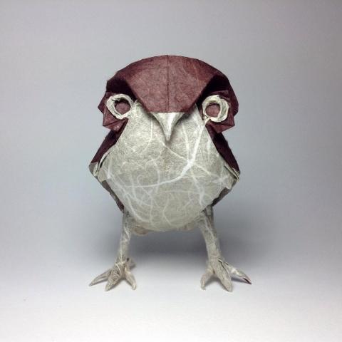 折紙でできた動物05