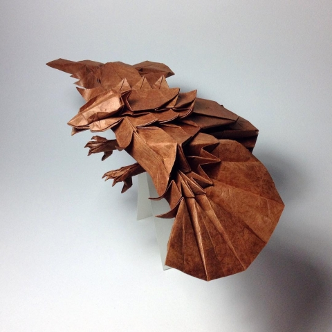 折紙でできた動物06