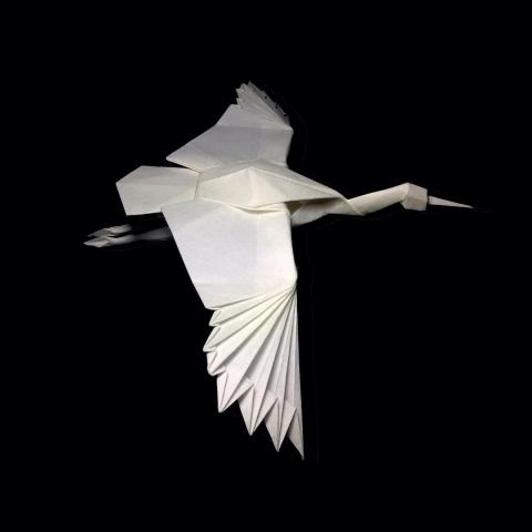 折紙でできた動物08