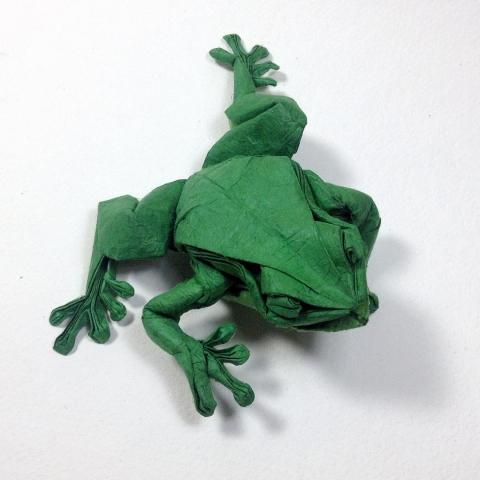 折紙でできた動物09