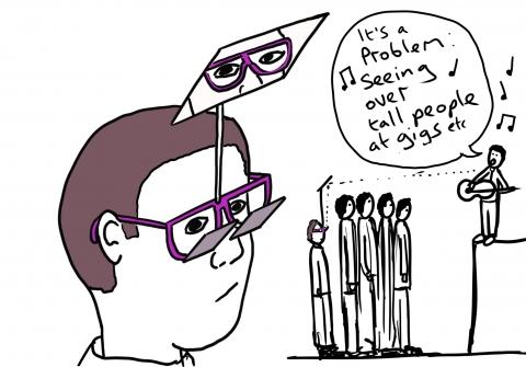 潜望鏡のようなメガネ05