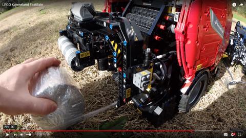 レゴで作った草刈り機05