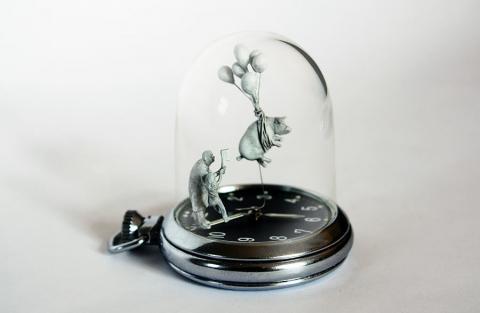 時計の針に彫刻03