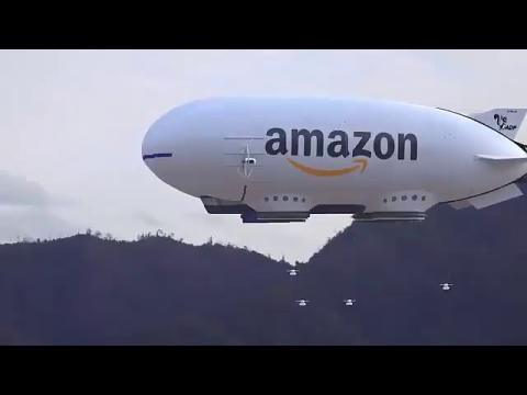 アマゾンがドローンを発射01