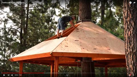 立ち木のログハウス04