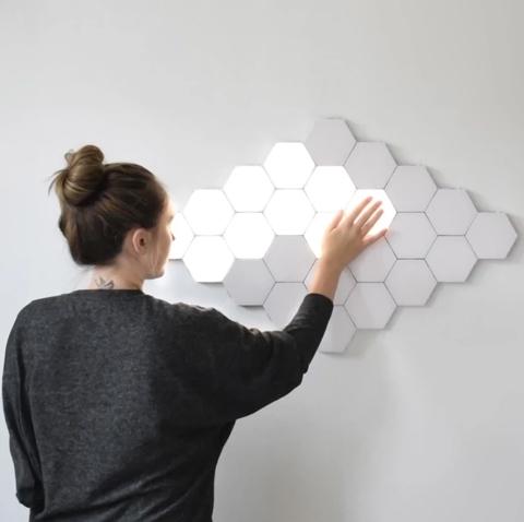 六角形のライト02