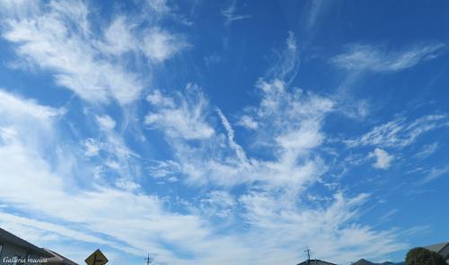 よい秋の日の空4