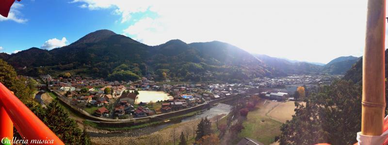津和野の風景。9