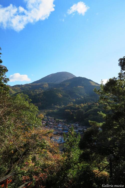津和野の風景。4
