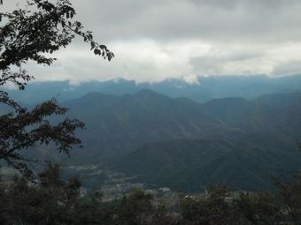 山頂から181014