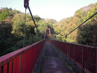 またまた吊り橋181021誰も通ってないような