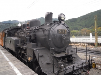 千頭からSL列車に乗り換えて新金谷まで181104