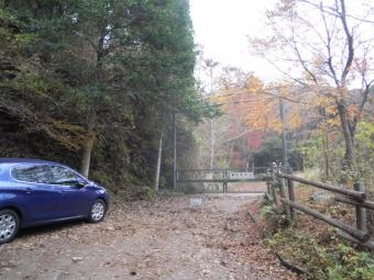 県民の森ゲート181202