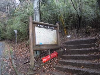 金時登山口181204