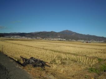 大山方面快晴富士山雲の中181230