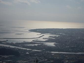 下山途中から焼津港190113
