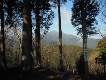 高取山山頂190117