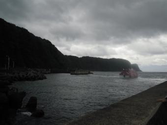 岡田港に戻って190707
