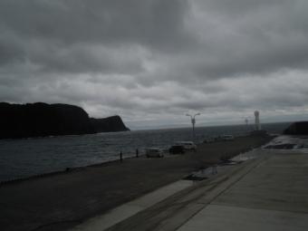 一応船着場の先端まで190707
