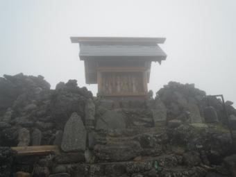 飛騨山頂2811m190713