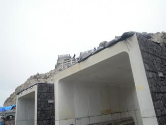 剣が峰直下避難シェルター190713