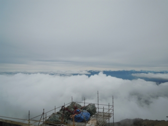 遠くに富士山が見えて190713