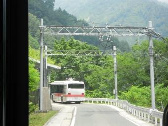 扇沢~黒部ダム 電気バス