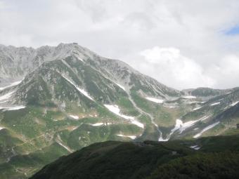 一の越から雄山190725