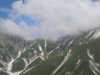 明日歩く稜線190725