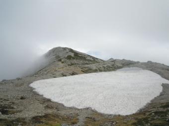 多分こっちが別山山頂ちょっと神社があるより高い190726